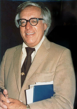 "Why Supporting Your Local Library Is the Ultimate Homage to Ray Bradbury ""When I graduated from high school in 1938, I began going to the library three nights a week,"" said Bradbury. ""I did this every week for almost ten years and finally, in 1947, around the time I got married, I figured I was done. So I graduated from the library when I was twenty-seven. I discovered that the library is the real school."" Check out more of this story at GOOD.is"