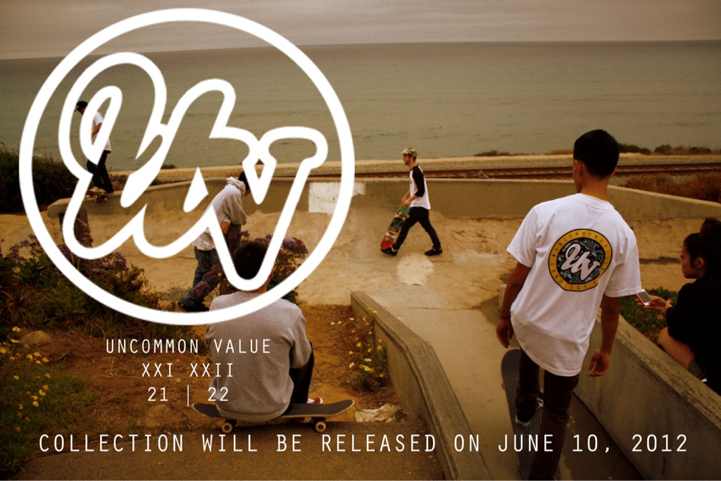kylefabi:  Uncommon Value clothing dropping June 10, 2012. The web site will be published the same day for purchases! Support your local clothing brand! #uv REBLOG.