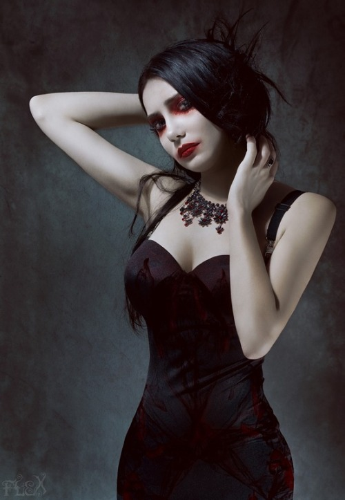 gothasinterpreted:  Red Regret by *FlexDreams