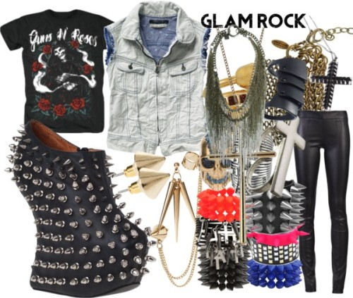 Rock Out by emsaxx featuring long ringsScotch Soda vest, €110The Row skinny leg pants, £1,349Jeffrey Campbell black leather booties, $265Goti longs jewelry, €868Roberto Cavalli chain jewelry, €825Alexander mcqueen ring, £334Alexander McQueen skull jewelry, £155Joanna Laura Constantine spike jewelry, $60Belle Noel by Kim Kardashian long ring, $79Plastic bangle, $13Black jewelry, $22Spike jewelry, $16Dorothy Perkins gold chain earrings, $14ASOS stackable jewelry, $14Miss Selfridge cross necklace, $13ASOS spike jewelry, $10ASOS spike jewelry, $10Ring, 9.99 AUDForever 21 spike jewelry, $7.80Forever 21 spike jewelry, $7.80Forever 21 spike jewelry, $4.80Guns N' Roses, €20