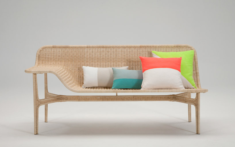 Yes to this palette and the rattan sofa is pretty nice, too. Relation Rattan Sofa by Hiroomi Tahara