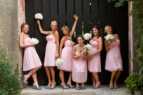 Doesn't this remind you of the Bridesmaids movie poster? Love it!