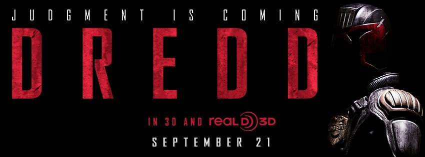 DREDD Banner Director: Pete Travis Writers: Alex Garland Stars: Karl Urban, Olivia Thirlby and Lena Headey Synopsis: In a violent, futuristic city where the police have the authority to act as judge, jury and executioner, a cop teams with a trainee to take down a gang that deals the reality-altering drug, SLO-MO.