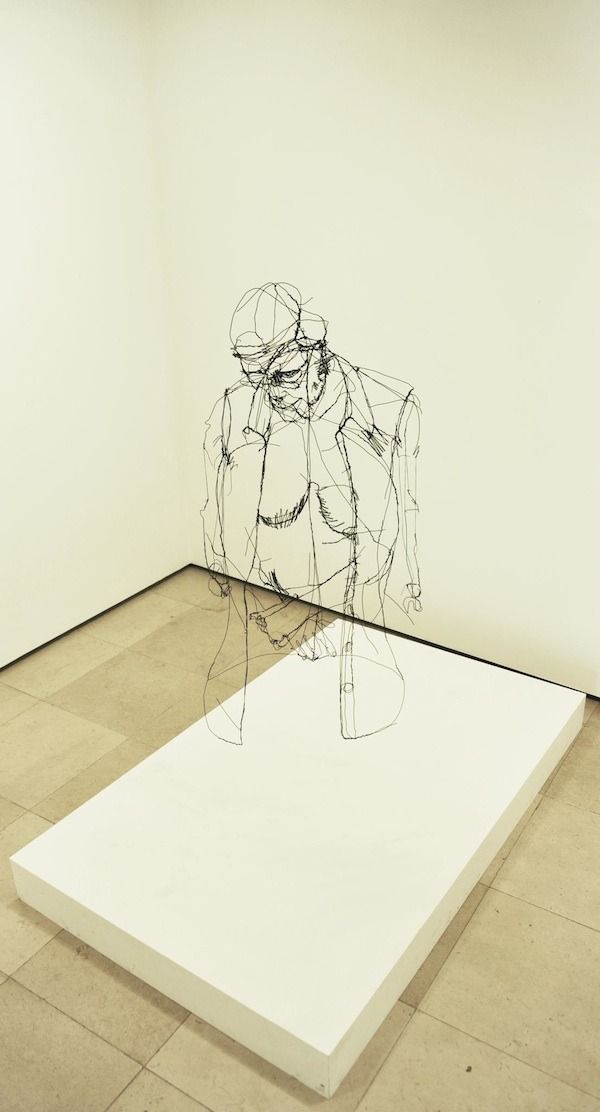 myedol:  Wire Sculptures by David Oliveira