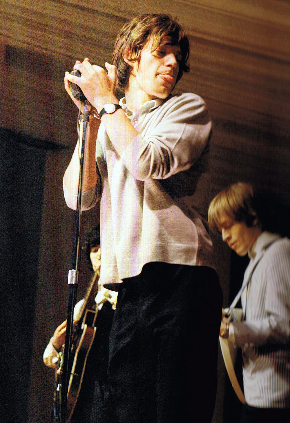 MICK JAGGER et BRIAN JONES