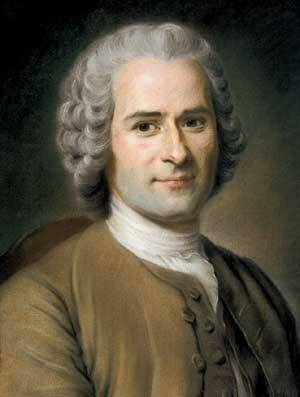 beatniksandrevolutionaries:  Rousseau was a babe, you guys.