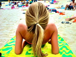 tanned-and-blonde:  Tired of not having enough summer on your dash? Follow me: tanned-and-blonde for summer all the time and ask me to check out your blog! :)