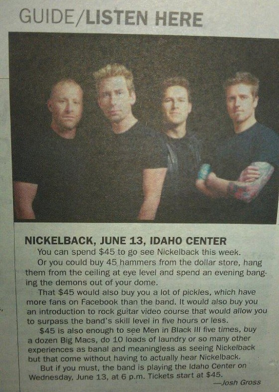 capricecrane:  There appears to be someone out there who dislikes Nickelback even more than I do.