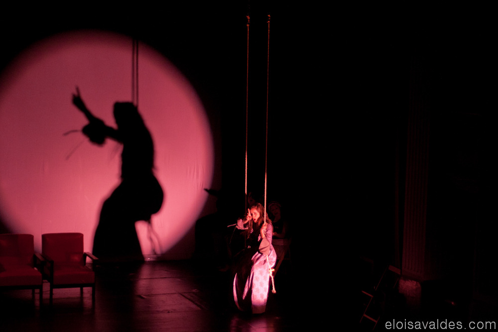 Photography from 2008 in Ourense. Play: O Avarento de Molière. Group: CITAC.
