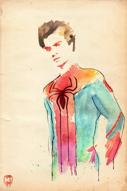 Spidey by Mud