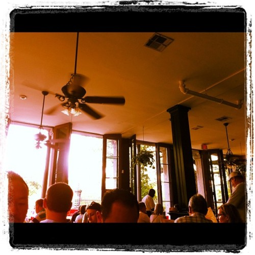 Al fresco eats (Taken with Instagram at Cafe Pontalba)