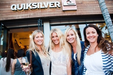 Everyone from Steph Gilmore to Cindy Crawford made it out for the Quiksilver Women's flagship store opening party at the Malibu Lumber Yard.  Love it!