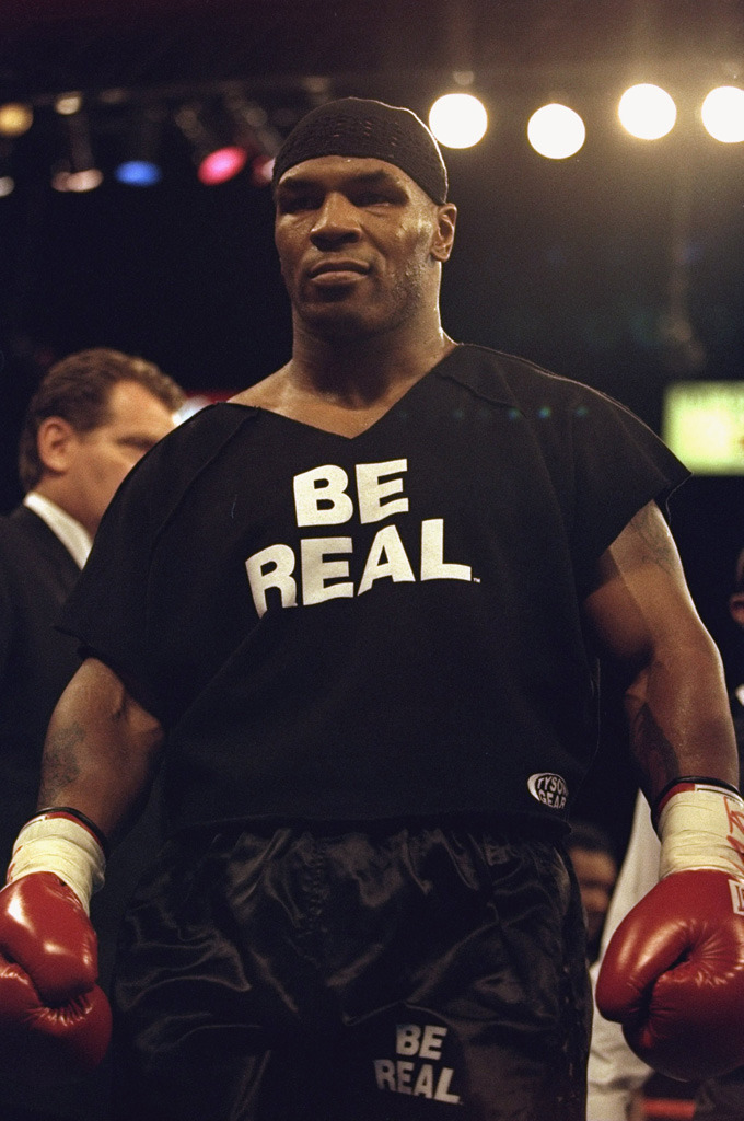Mike Tyson IS Real.