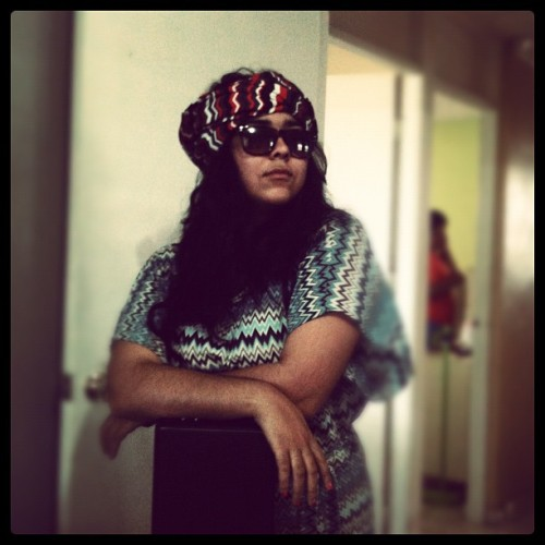 Ali-baba #model #turban @ECEvyCollazo (Taken with Instagram)