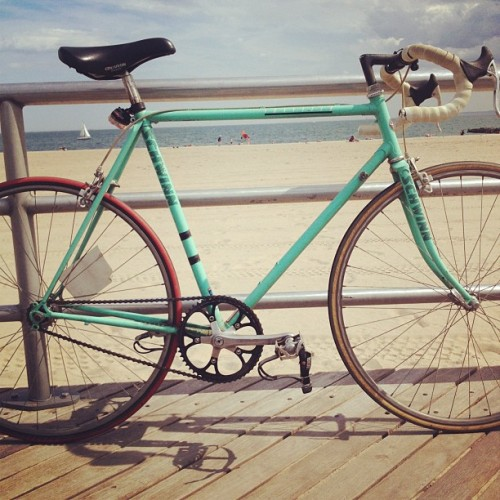 Nothing beats a bike ride to the beach  (Taken with Instagram)