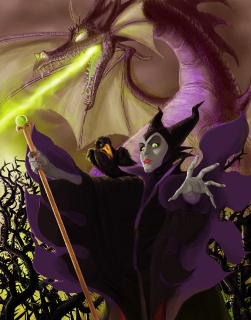 Maleficient by peetietang
