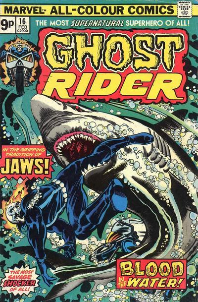 Ghost Rider Vol.2 #16, February 1976. Cover by Bob Brown