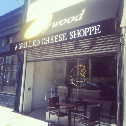 So very excited about this. (Taken with Instagram at Heywood - A Grilled Cheese Shoppe)