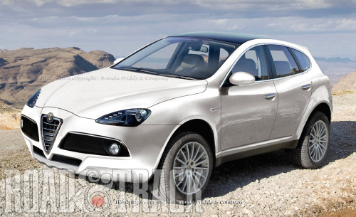 2014 Alfa Romeo SUV – Italian spin-off of an American classic. (Source: Road & Track)