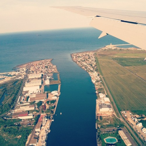Bye Italy…I'll see you again.  (Taken with Instagram)