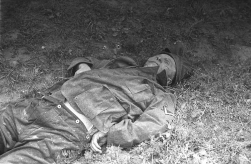 A landser killed at Kursk.