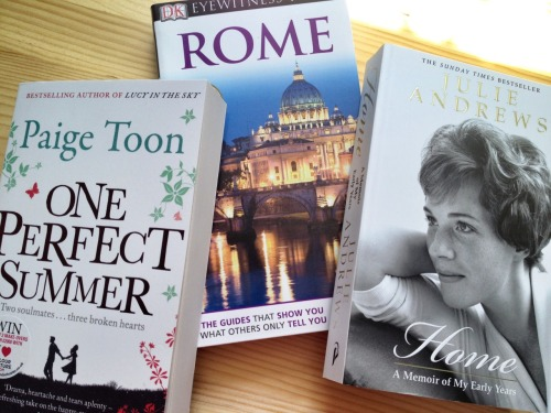 Rome Books. It's only two weeks on Monday till I'm in Rome - so excited.