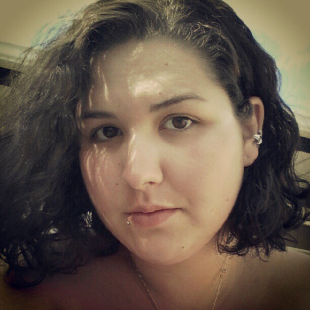 Finally, beach hair works for me. :) (Taken with Instagram)