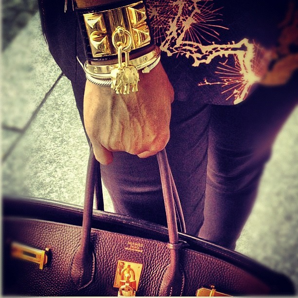 June Ambrose's Hardware. #fashion #trendsetter #style  (Taken with Instagram)