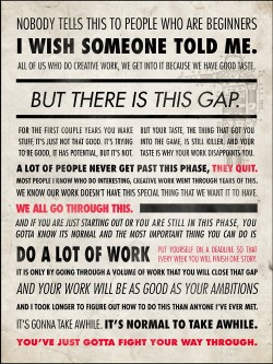 cosascool:  Great Advice for Creatives from Ira Glass