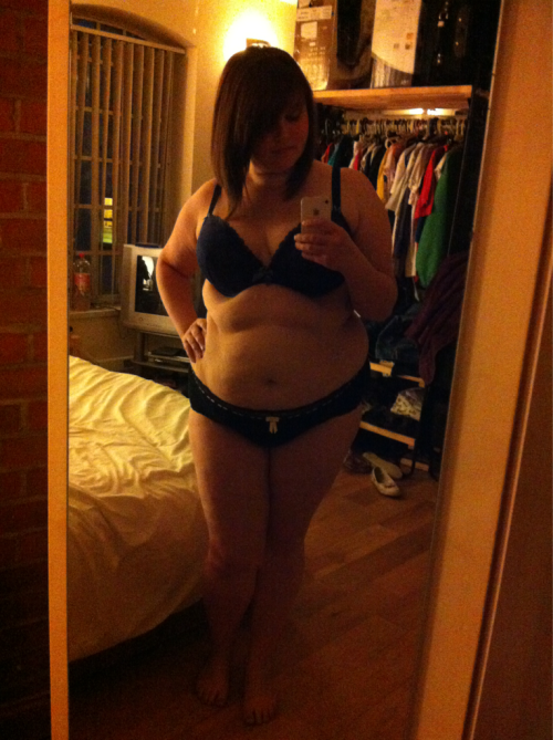 eleanorjane:  Undies pic as promised to celebrate and thank all my new and old followers! :) enjoy my chub! ^_^