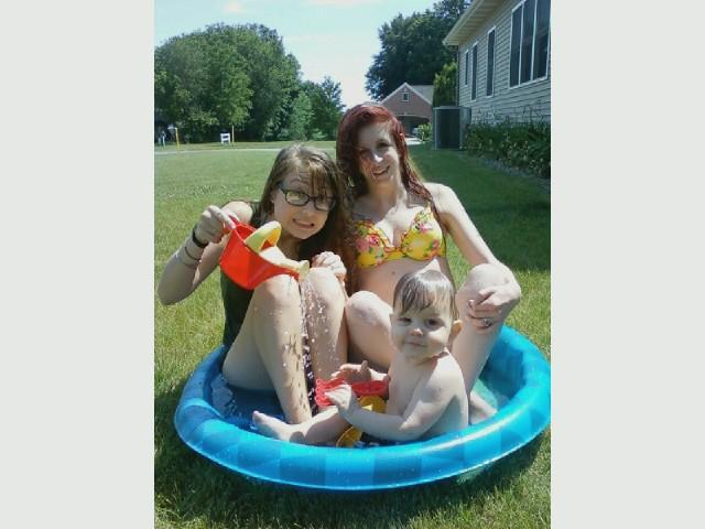 We went swimming!!! :)