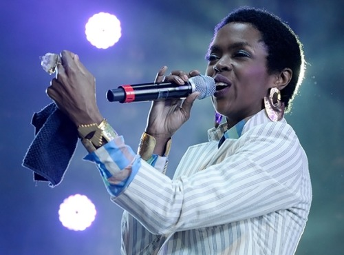 Lauryn Hill. Hot 97's Summer Jam 2012. New Jersey. So damn fly.