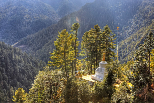 Chorten of the Tango Monastery, Thimphu, Bhutan (HDR) on Flickr.