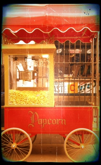 Popcorn on Rally Alley …
