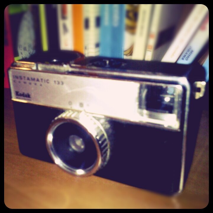 Instamatic 133#Kodak #instamatic #photography #camera #vintage #hipster(from @squeezedmind on Streamzoo)