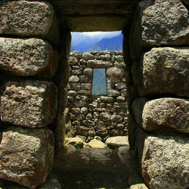 Window to a window to the sky #machuPicchu (Taken with Instagram)