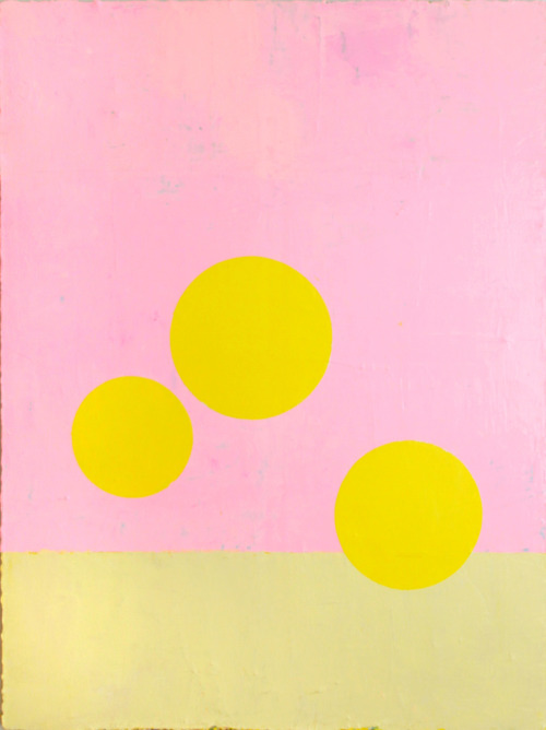 """Let the Sunshine in"" Acrylique sur toile,122cm x 91cm, 2011-2012"
