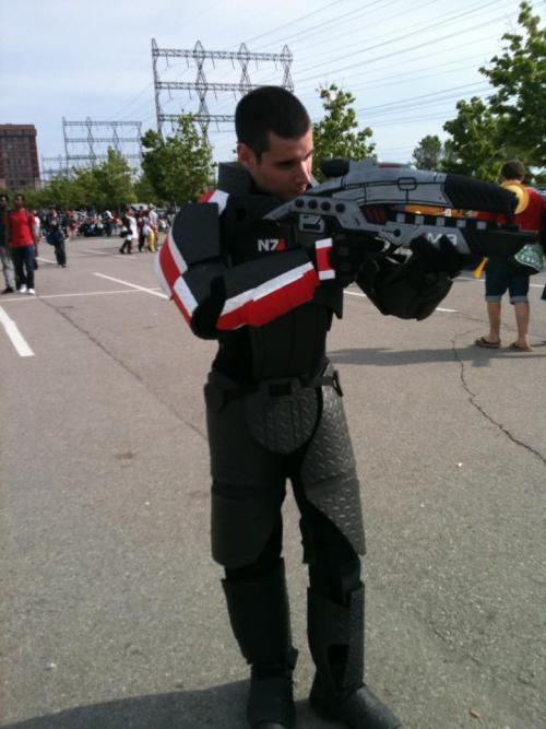 Cosplay of the day: Commander Shepard, seen at Anime North In relation to the epic Pickachu from Anime North, here's the first Commander Shepard I've personally seen. Gotta love the dedication to do something outside of the norm of cosplayers.