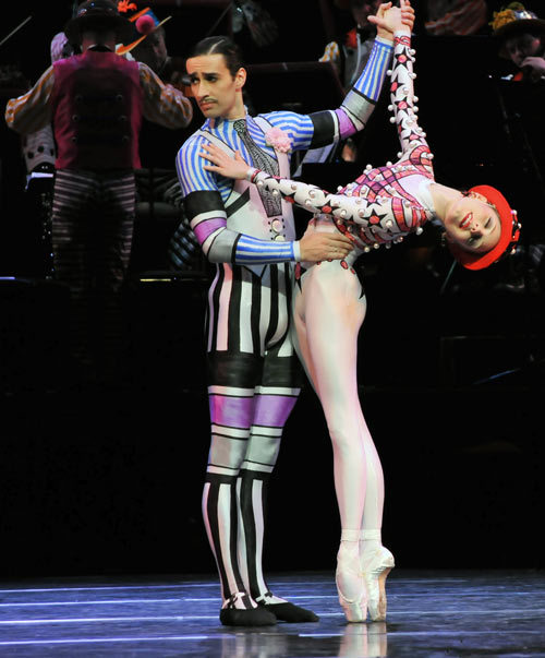 balletish:  Sarah Lamb and Valeri Hristov in Elite Syncopations