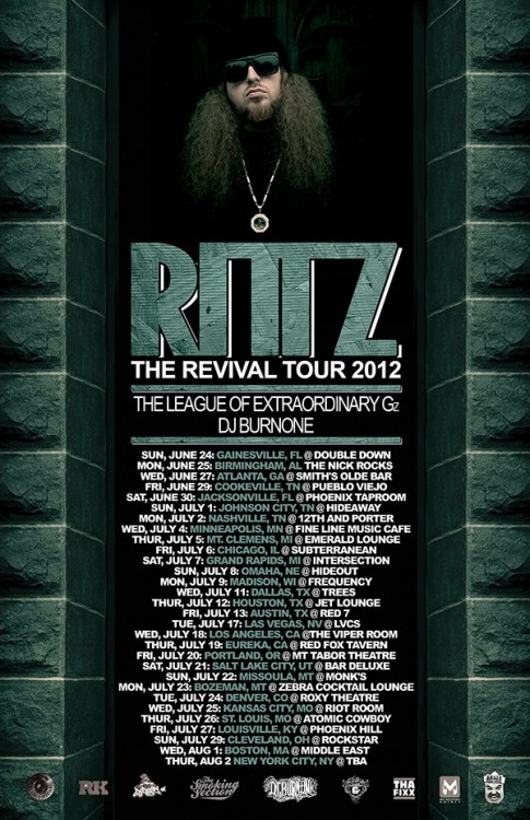 THIS JULY HITTIN THE ROAD WIT MY BROS THE LOEGz And Rittz…TIMELE$$