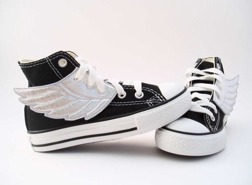 Super-hero shoes, these are amazing shoes, for the children. (would like them in my size…5 if anyones wondering…wink, wink)