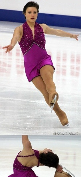 Bettina Heim skating to Faraway by Apocalyptica for her short program at the 2011 World Championships.