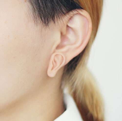 This is freaking me out/I can't stop looking at it. nevver:  Ear Earring
