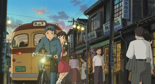 "STUDIO GHIBLI'S LATEST FILM – KOKURIKO-ZAKA KARA WILL BE IN THEATERS! Posted by YUNAPYON in ANIME, NEWS and tagged AMERICA, DOCUMENTARY,FROM UP ON POPPY HILL, FUTARI, GHIBLI, GHIBLI MUSEUM, GORO MIYAZAKI, HAYAO MIYAZAKI, JAPAN, KOKURIKOZAKA KARA, MITAKA,RELEASE, STATES, USA. | 06.08.12  This news made my day yesterday. Studio Ghibli's latest film ""From Up on Poppy Hill / Kokuriko Zaka Kara"" 『コクリコ坂から』will be released in March 2013 in America. I have't got an chance to watch it in Japan, I believe the Blue-Ray just came out in Japan! I just can't wait to watch it in a theater… I've read pretty good reviews online and after going to The Ghibli Museum in Tokyo (!!!!) last winter, I am the biggest fan of Ghibli world. I feel like I can finally say it! haha:) I will blog about the museum experience very soon! It was beyond awesome. period. But you know it already. It's STUDIO GHIBLI! One of the best moments // places in Japan. Can't wait to go back there. Seriously!  watch this trailer and get ready for next spring!  Can't stop listening to this theme song of the movie. What great melodies. http://youtu.be/1HrnaVzqRfs Also, there is this great documentary of Hayao Miyazaki's son Goro, making scenes of KOKURIKO SAKA KARA, on TV back in summer 2010. I highly recommend to watch it. Please share your thoughts with me if you've already watched it:)  (Source)"