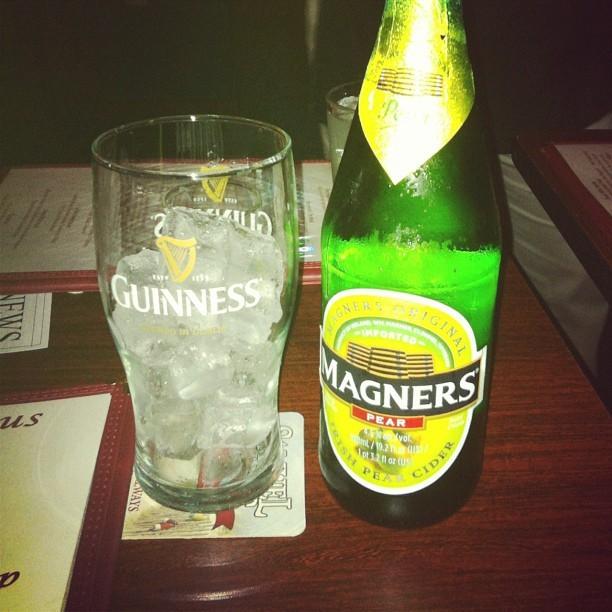 Magners pear cider. I'm such a girl. (Taken with Instagram)