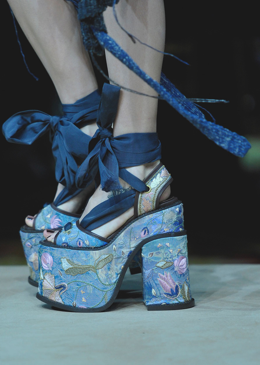 runway-shoes:  Vivienne Westwood Paris Spring 2012