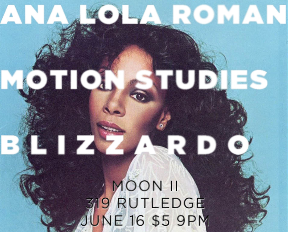 ALR PLAYS MOON II PARTY on JUNE 16, 2012  with Motion Studies with Blizzardo