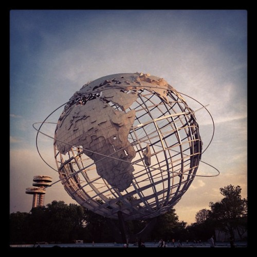 Hello world! (Taken with Instagram at OLD WORLDS FAIR SITE)