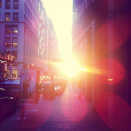 Sunset #nyc (Taken with Instagram)