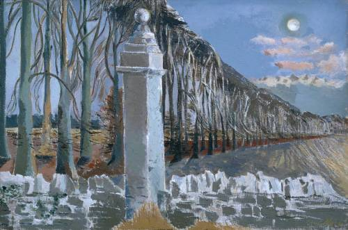 thorsteinulf:  Paul Nash - Pillar and Moon (1932-42)